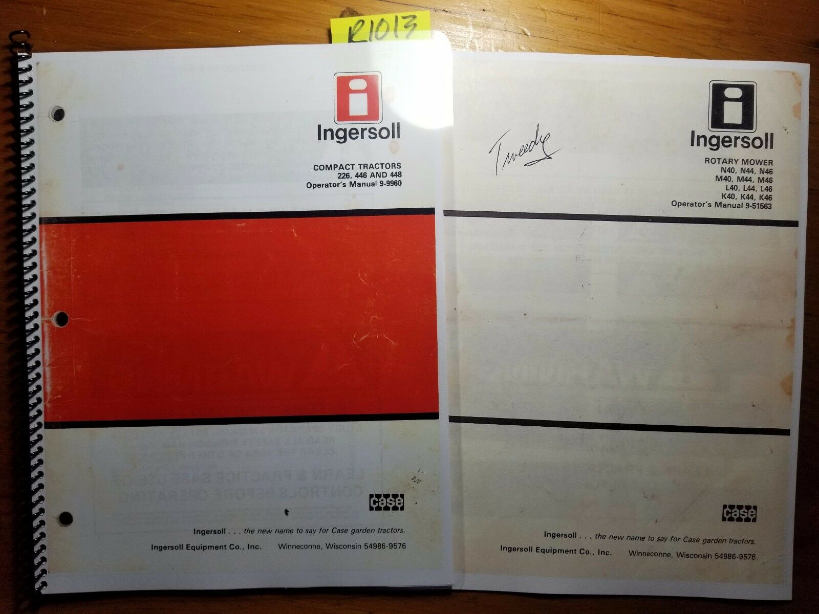 Case Ingersoll 226 Manual Wiring Diagram 446 448 Compact Tractor Owner Operator 9 Rh Picclick Com