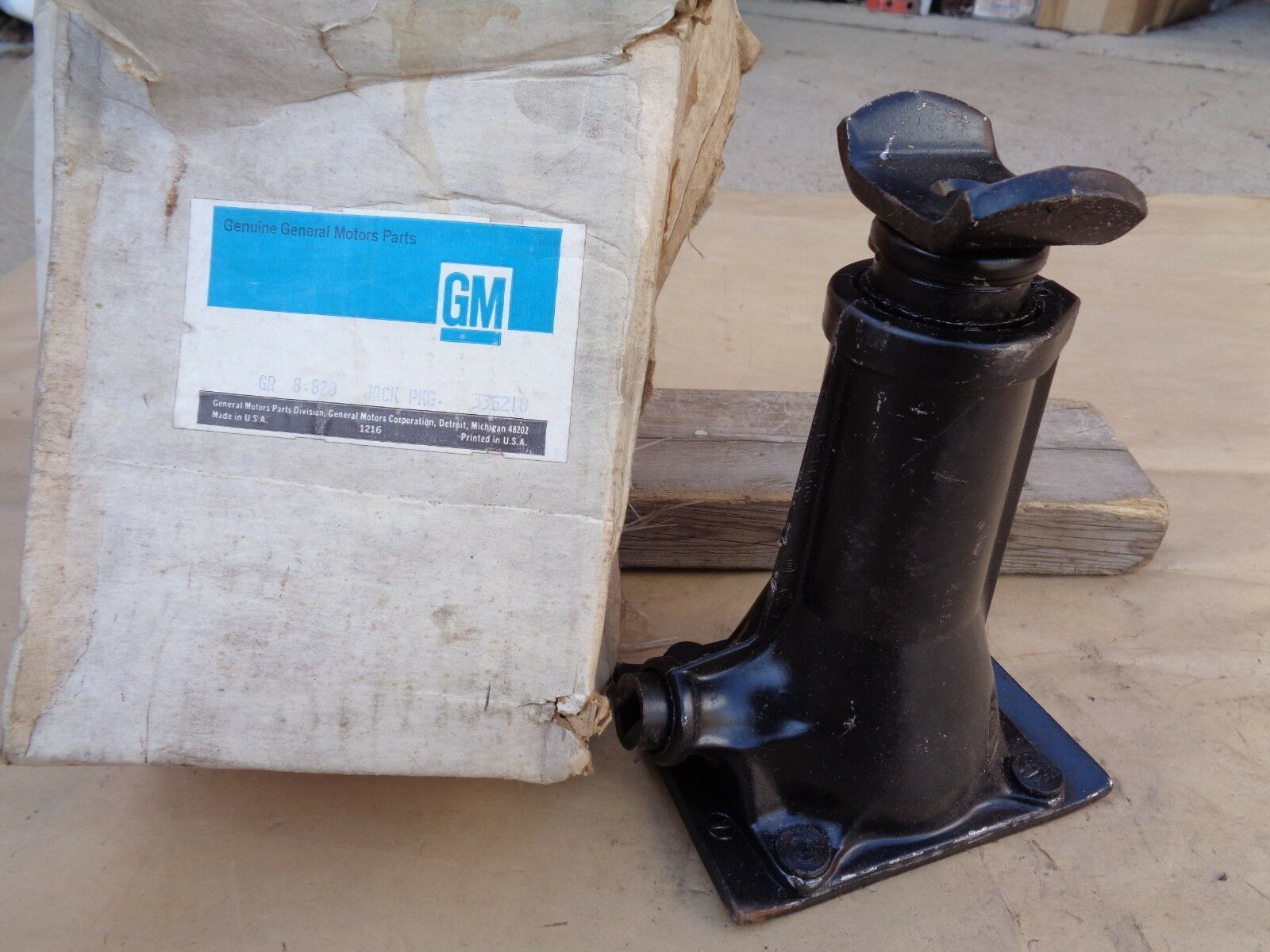 Nos 1960 1972 Chevy Truck Jack Original Gm 4400 Lbs Screw Type C 10 Front Harness 1 Of 9 See More