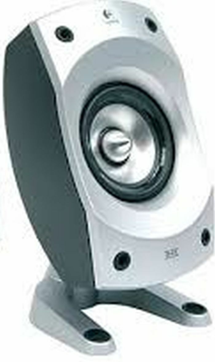 LOGITECH Z-5500 REPLACEMENT PART front/rear Satellite Speaker ONLY ...