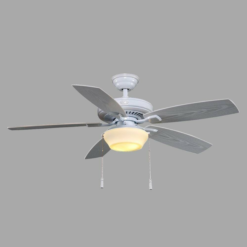 Hampton Bay Heirloom 52 In White Indoor Outdoor Ceiling Fan New 7989 1 Of 1only 2 Available