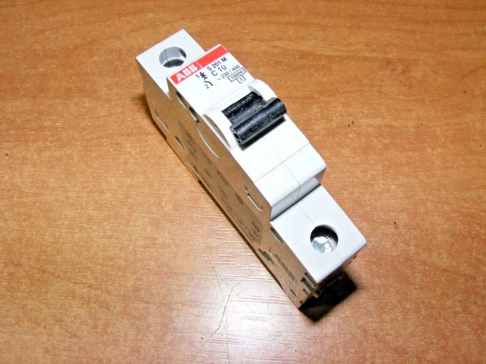 Abb Mcb 10 Amp Type C Single Pole 10a C10 Circuit Breaker 795 House Fuse Box Amps 10000 1 Of 2only Available See More