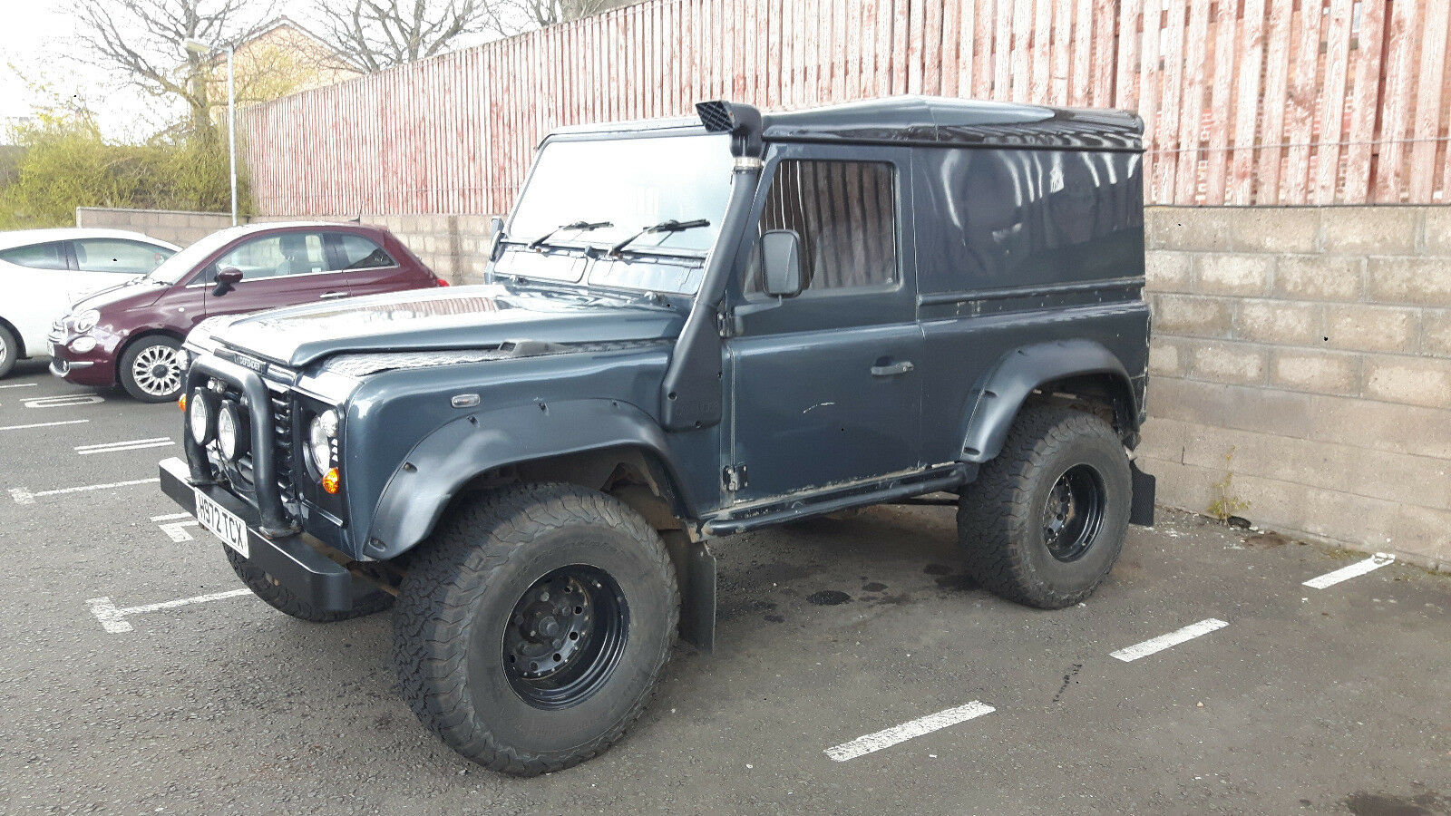 1990 land rover defender 90 200tdi hardtop 4x4 2 picclick uk. Black Bedroom Furniture Sets. Home Design Ideas