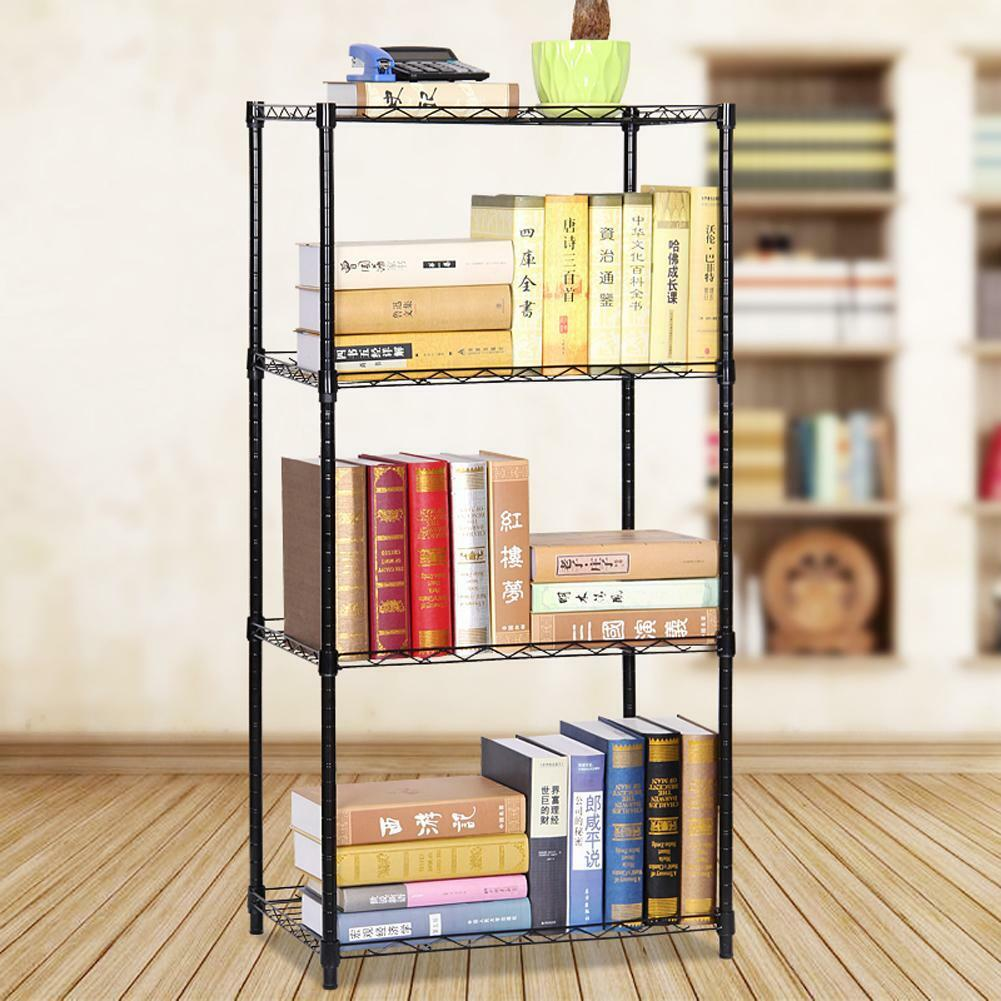 4 TIER METAL Lagerregal Organizer Rack Küche Regal Eisen Draht Regal ...