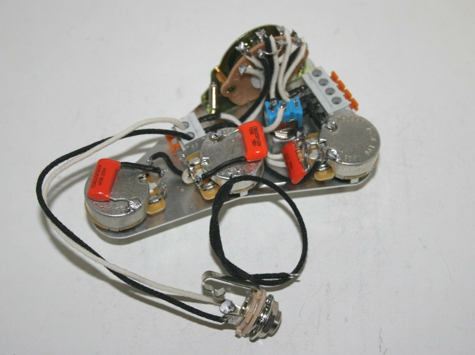 David Gilmour Usa Fender Stratocaster Solderless Wiring Loom Harness