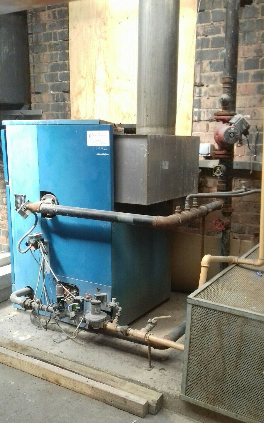 COMMERCIAL HEATING SYSTEM boiler complete - £999.99 | PicClick UK