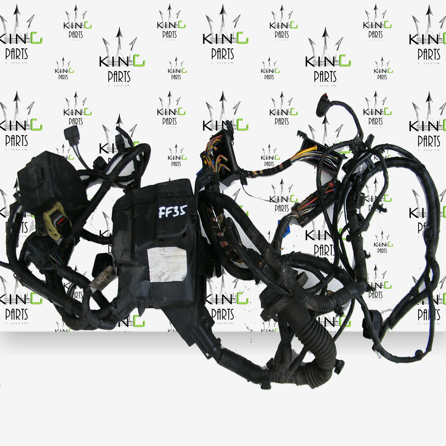 Fiesta Mk7 2008 2016 Petrol 14 Relay Fuse Box Wiring Loom Harness 1 Of 6free Shipping