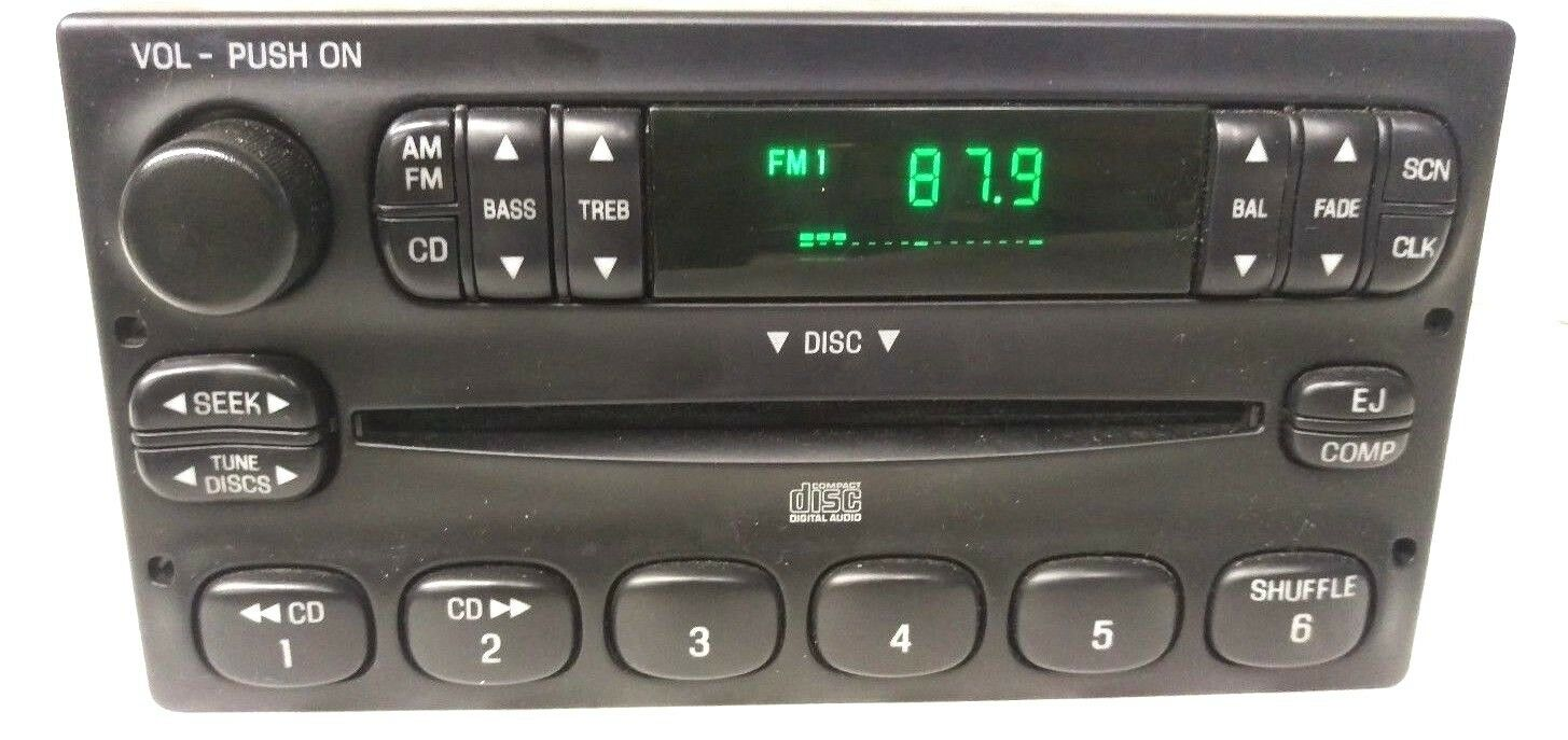 Ford Radio Wiring Diagram Yu3f 18c868 Aa Trusted Diagrams Stereo F87f 19b132 Ab For A 2001 F 250