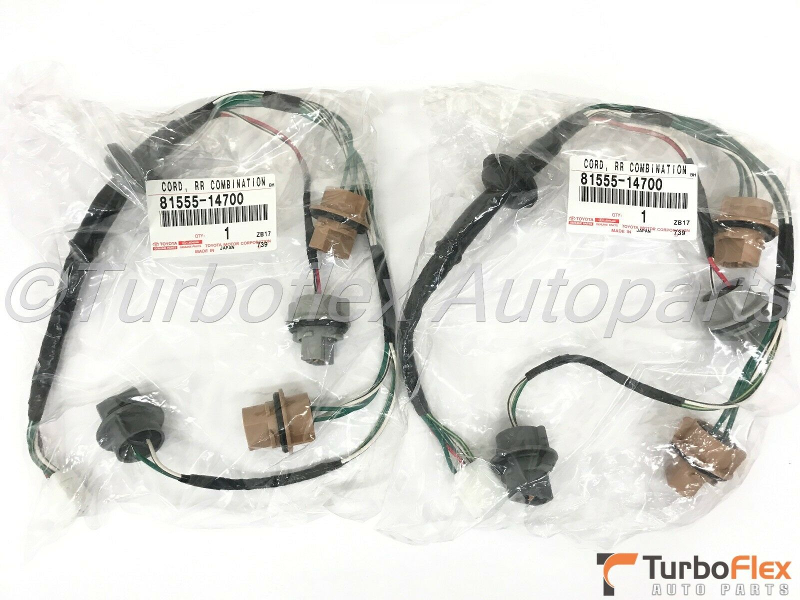 Toyota Supra 1997 1998 Jza80 Tail Light Harness Set Of 2 Genuine Wiring Supera 1 3only Available