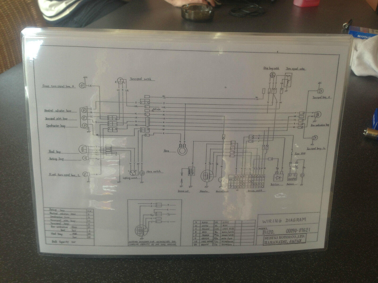 Suzuki B120 Wiring Diagram 150 Picclick Uk Sv650 Electrical 1 Of See More