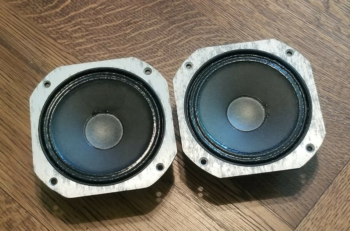 Vintage Jbl Midrange Speakers 1 Pair L65 Jubal 21900 Picclick Way Speaker Crossover Work Also 3 Diagrams Of 3only Available