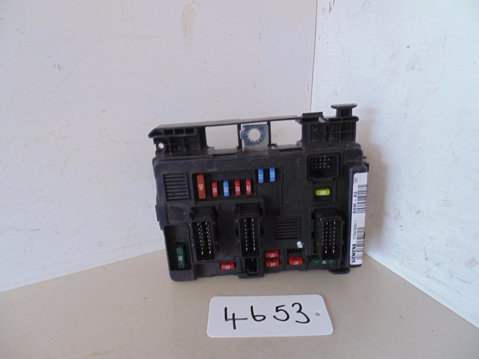 Peugeot Partner 206 Van Under Bonnet Fuse Box Siemens 9643498980 Genuine  Part 1 of 2FREE Shipping ...