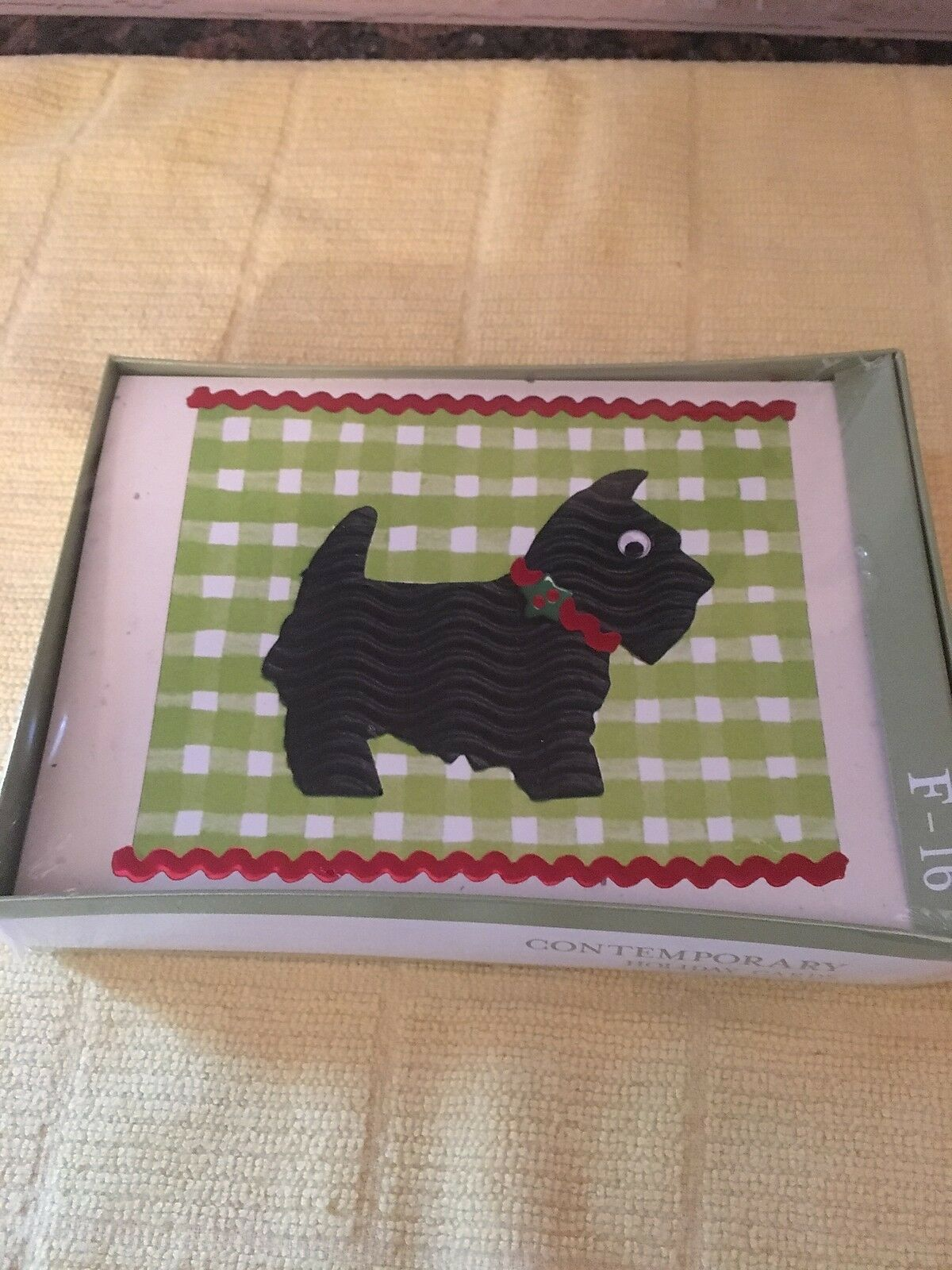 Scottie Dog Christmas Cards New 18 By Contemporary Holiday Cards
