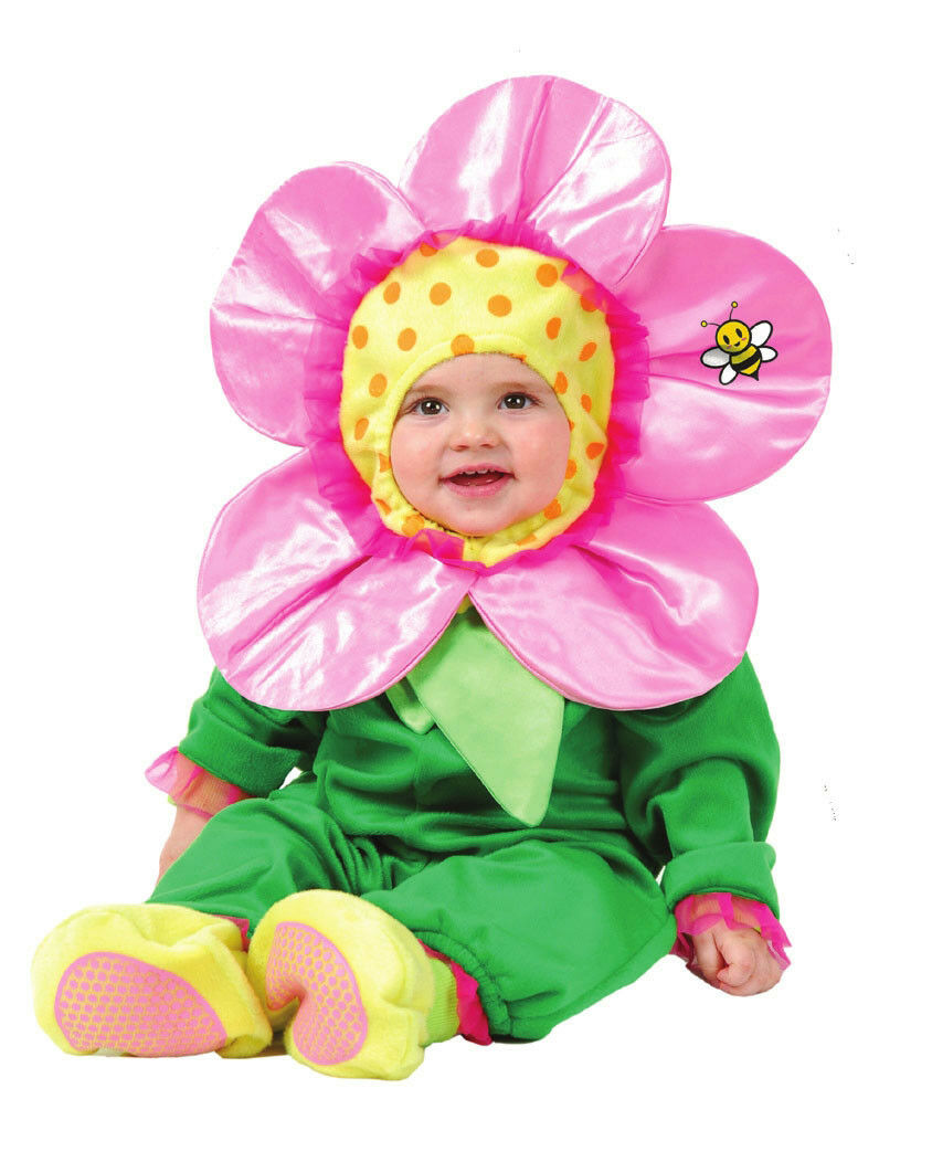pink pansy flower baby girl infant halloween costume infant outfit