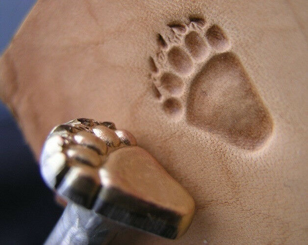 New Creative Bigfoot Or Sasquatch Track Custom Made Leather Stamp Tool 1 Of 3Only Available See More