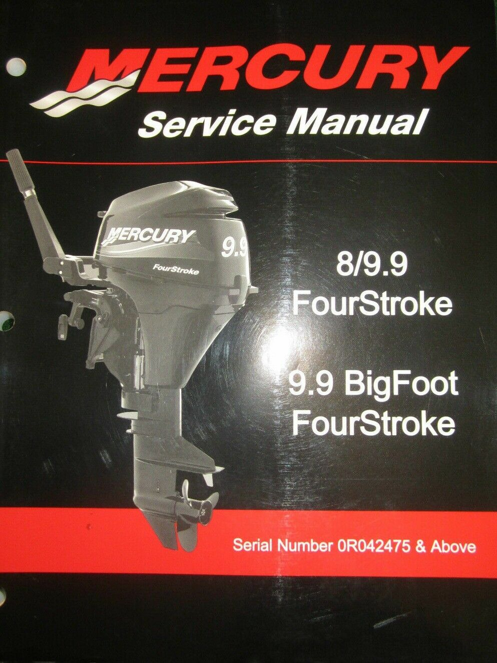Mercury / Mariner 8 - 9.9 FourStroke Outboard Motor Service Repair Manual  CD 1 of 3FREE Shipping Mercury ...