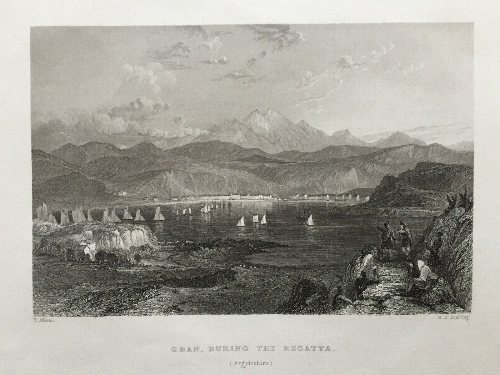 1836-Antique-Print-Oban-during-the-regatta-Argyll.jpg