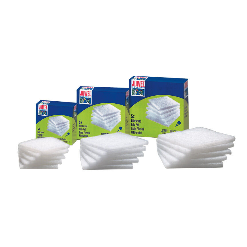 6x Juwel Compact Poly Wool Pads Pack of 5 100% Genuine