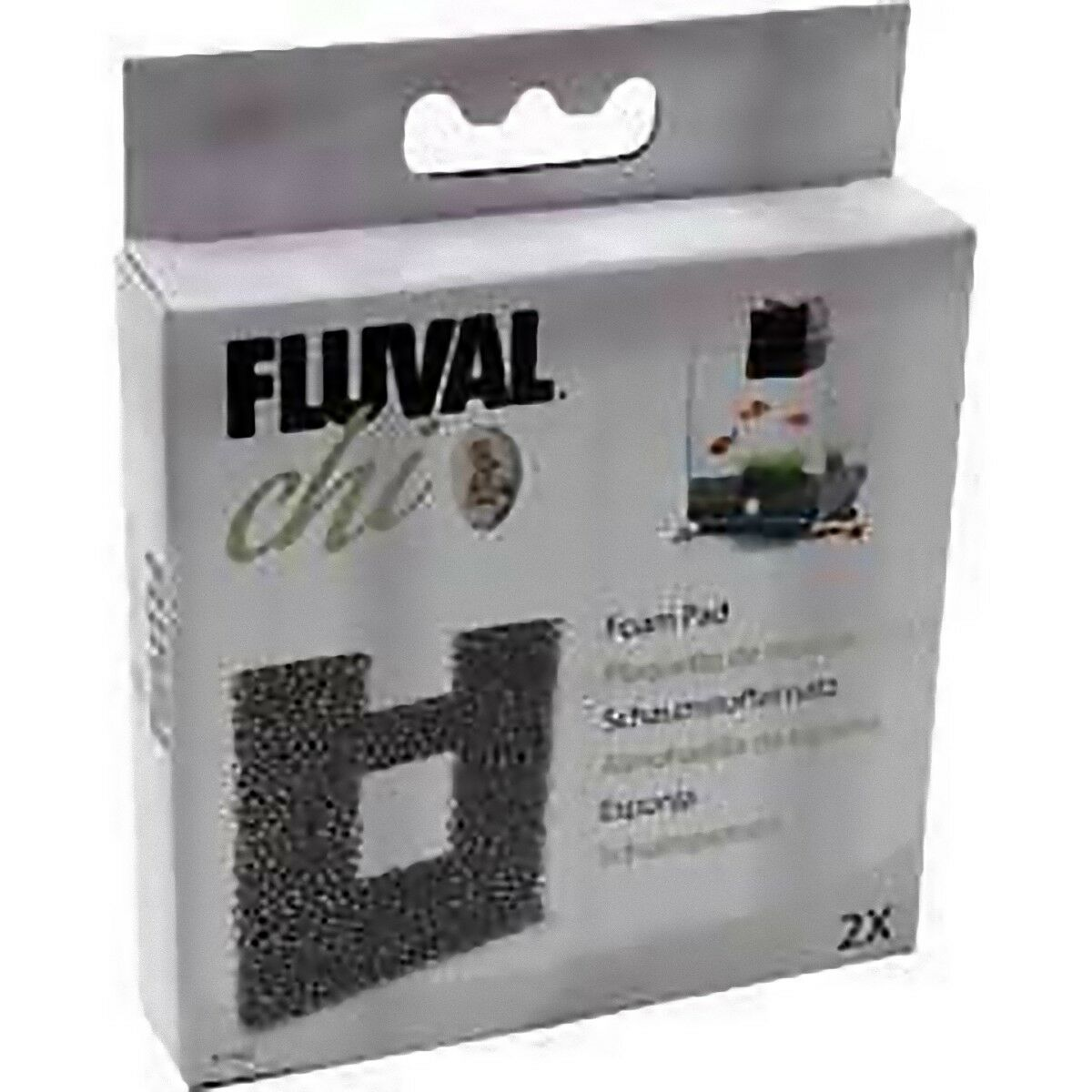 Fluval Chi Replacement Filter Foam Pack of 2 GENUINE!