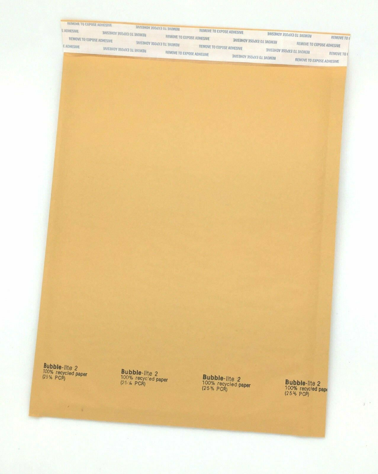 """50 #2 (8.5""""x12"""") Kraft Bubble Lined Mailer Envelopes Self Seal Free Shipping"""