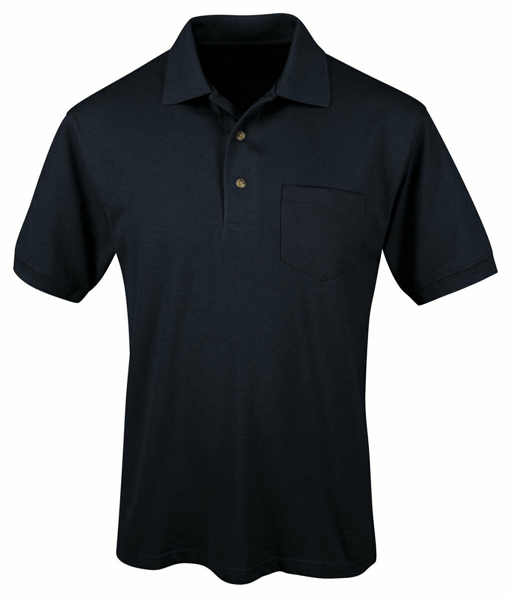 Tri mountain men 39 s big and tall short sleeve pocket sport for Big and tall polo t shirts