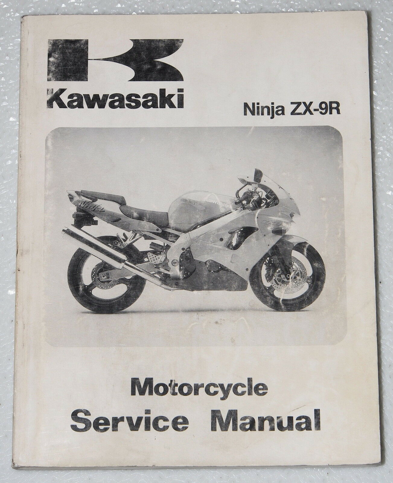 1998 KAWASAKI NINJA ZX-9R Service Manual ZX900-D1 Motorcycle Factory Shop  Repair 1 of 1Only 1 available ...