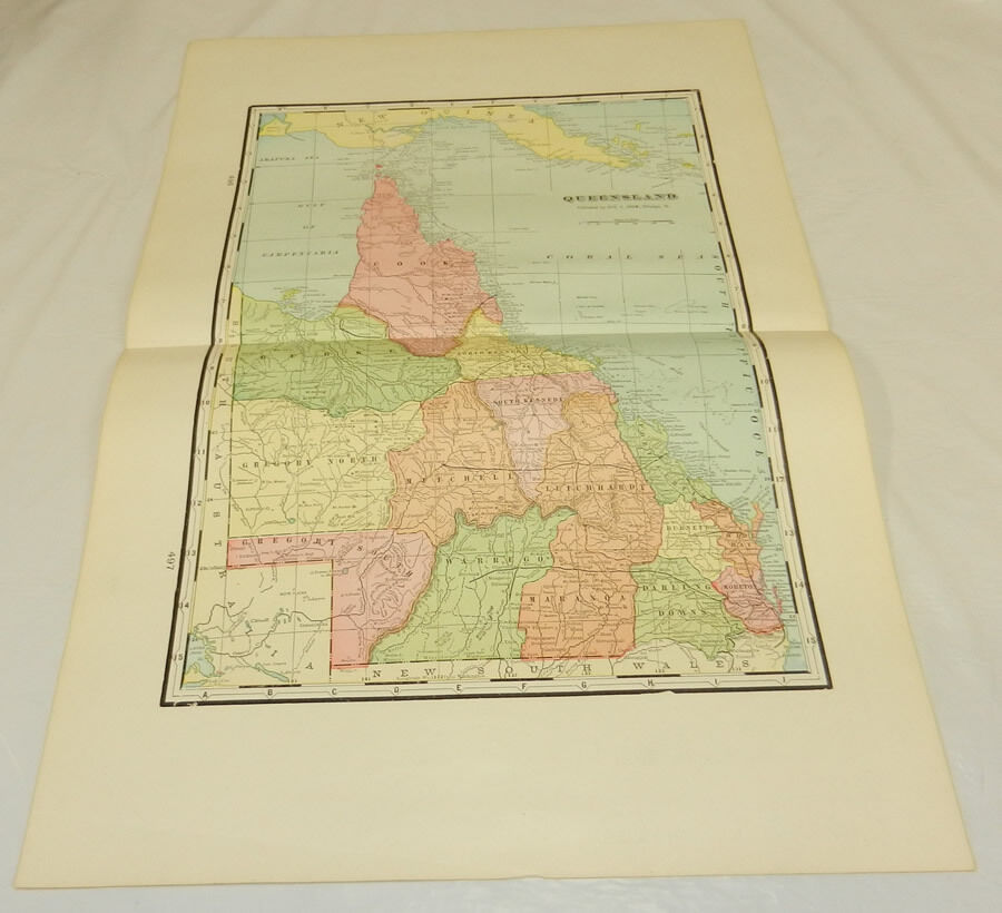 queensland map coloring pages - photo#38
