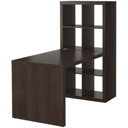 new ikea expedit workstation computer desk bookcase table. Black Bedroom Furniture Sets. Home Design Ideas