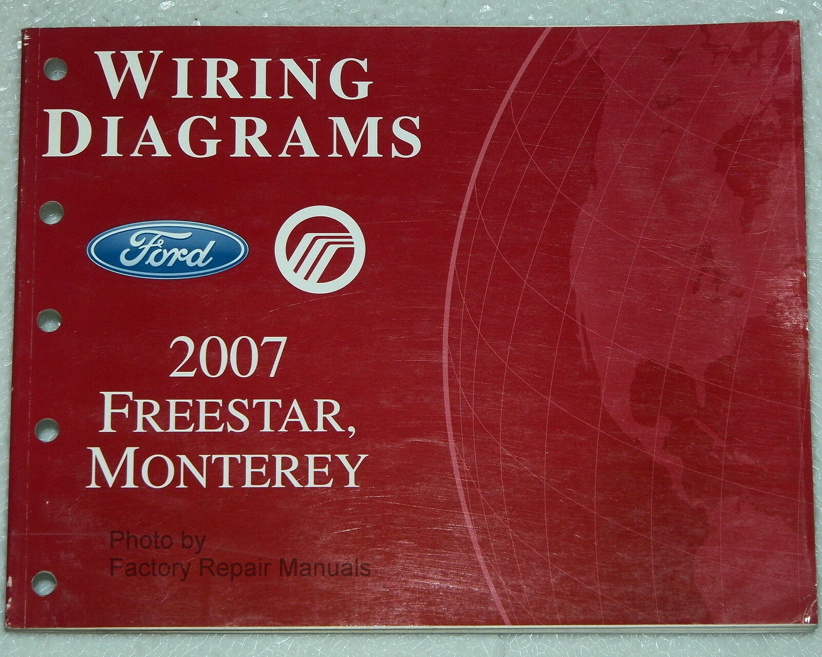 2007 Ford Freestar Mercury Monterey Electrical Wiring Diagrams Shop 04 Diagram Manual 1 Of 1only Available