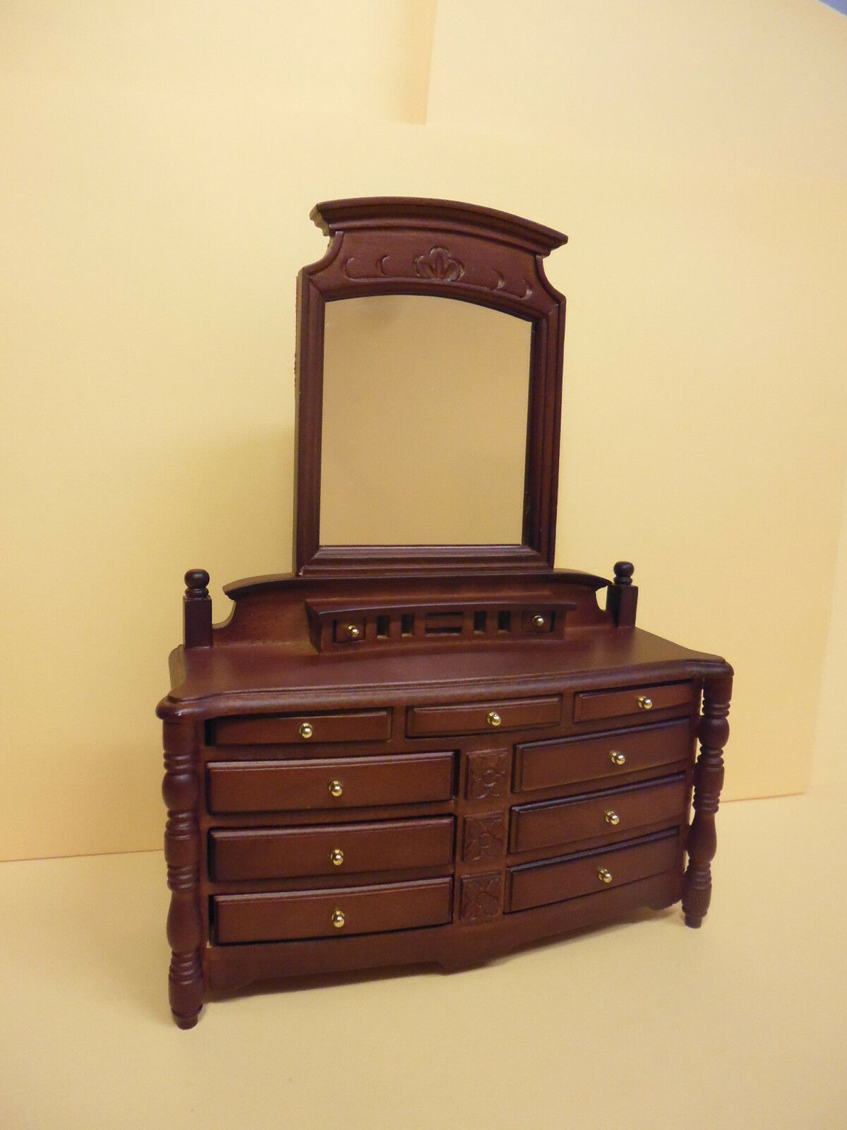 Quality Furniture : Dolls House Quality furniture 1/12 scale Dressing Table 63225DT ...