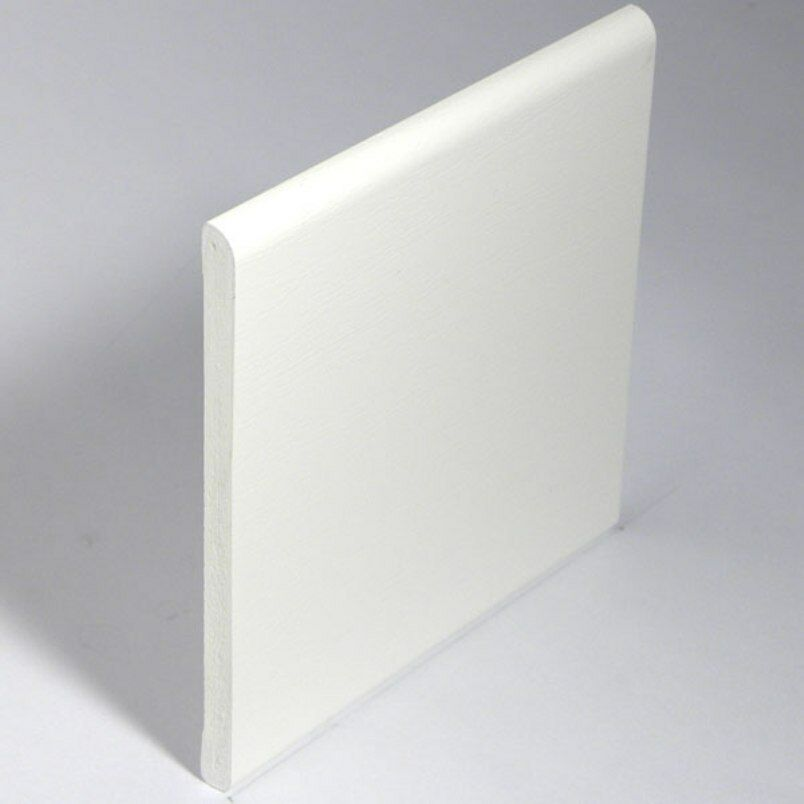 White window door plastic upvc pvc trim 95mm skirting architrave 5m 2 x picclick uk Plastic molding for exterior doors