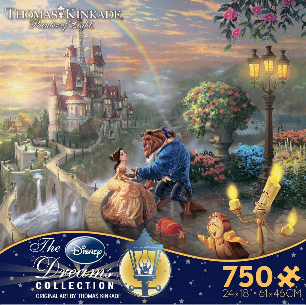 Thomas Kinkade Beauty And The