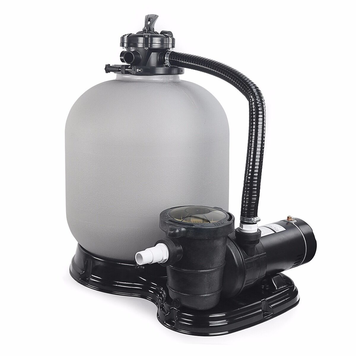 19 Sand Filter W 1 5hp Set Above Ground Swimming Pool