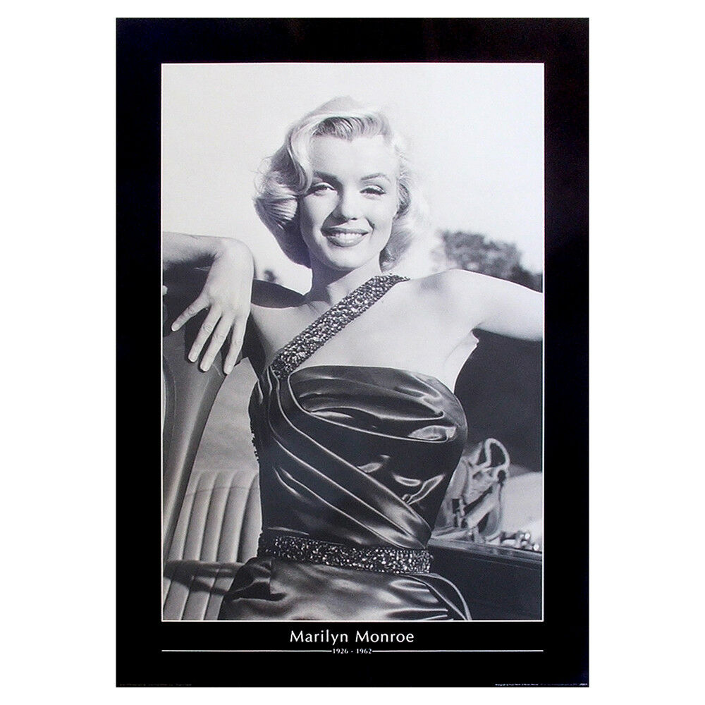 MARILYN MONROE Poster. Model Actress Movie Icon Large Vintage Print ...