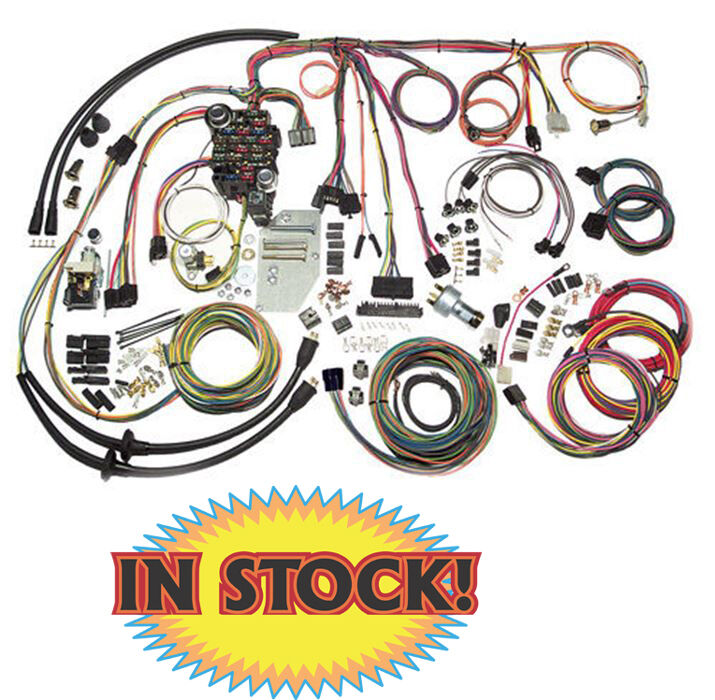 1955 56 chevy classic update wiring kit american autowire 500423 rh picclick com