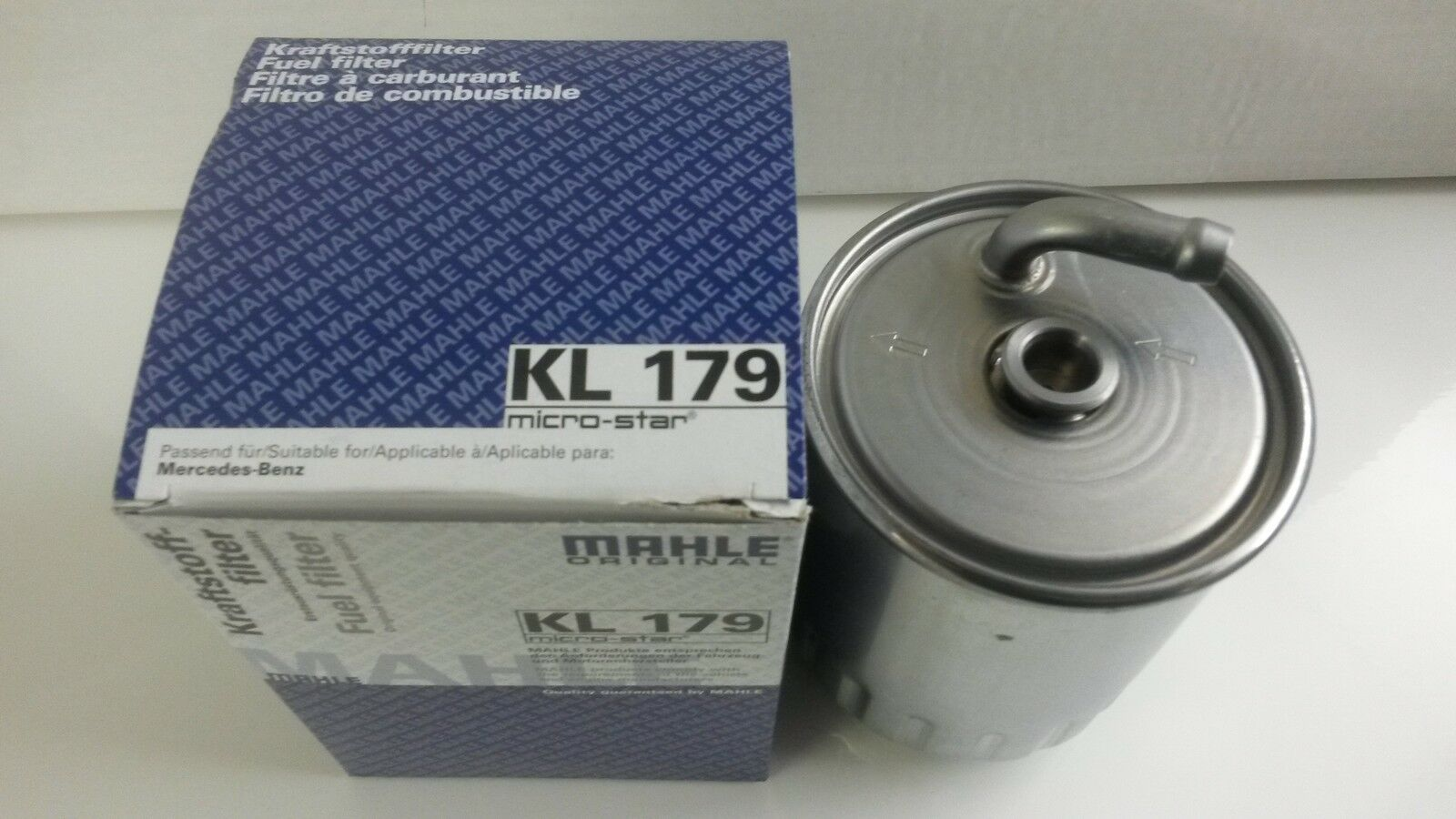 Mercedes Ml270 Cdi Diesel Fuel Filter Genuine Mahle 2000 2005 E320 1 Of 1free Shipping