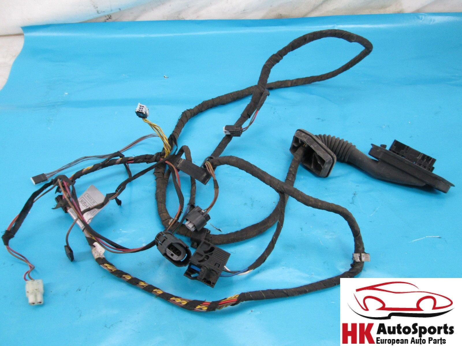 Bmw E38 740i 740il 750il Rear Left Driver Side Door Wire Wiring Harness 1997 328i Oem 1 Of 6only Available