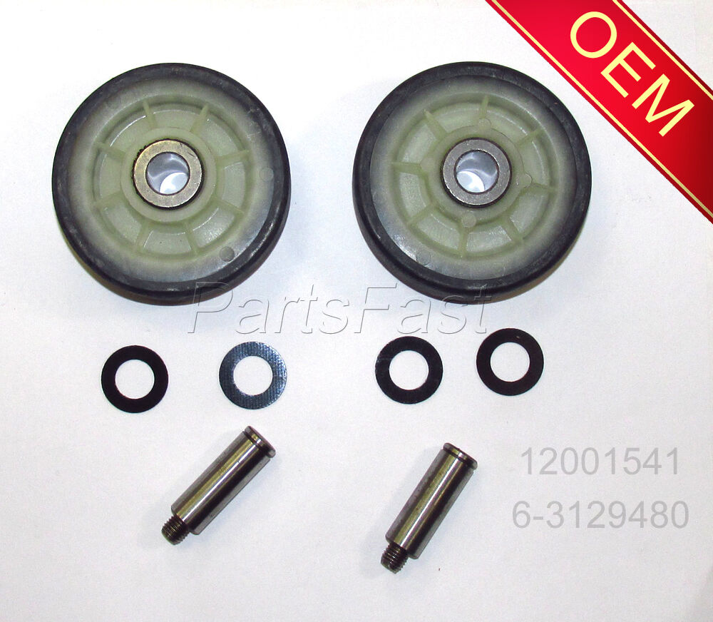 Oem Factory Dryer Parts 2 Rollers Shafts Maytag Admiral Crosley Electric Model Mde9606ayw 1 Of 1free Shipping