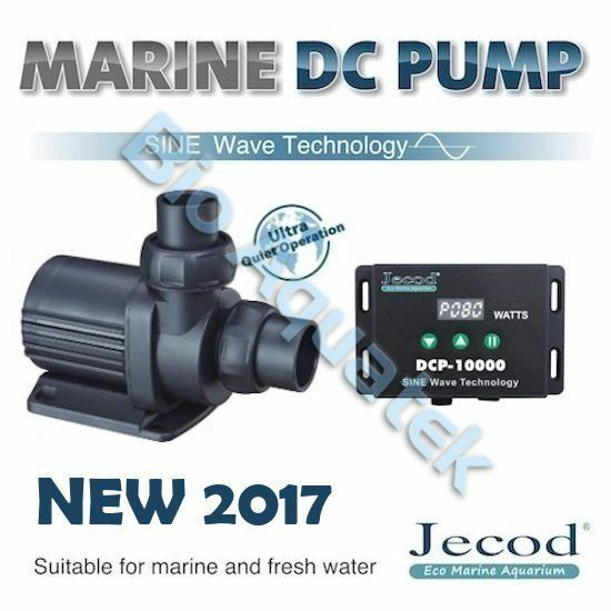 Jecod Variable Flow DCP DC Aquarium Return Pump & Controller Marine NEW 2017 UK