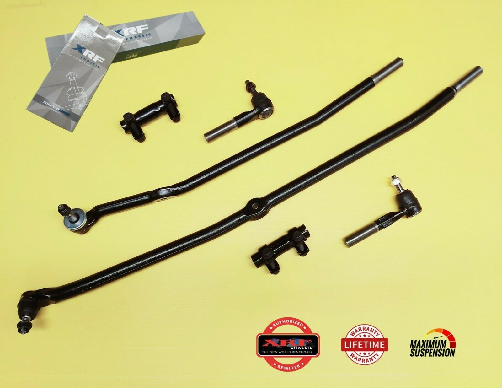 Xrf Inner Outer Tie Rod Drag Link Steering Kit Dodge Ram 2500 3500 Hd 03 1 Of 5only 2 Available See More