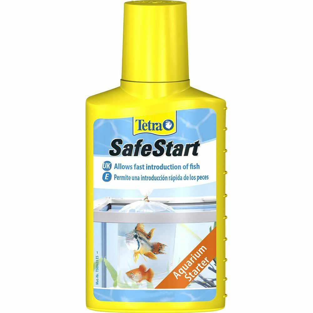 Tetra Safe Start 50ml Live Bacteria Tropical Aquarium Fish Tank