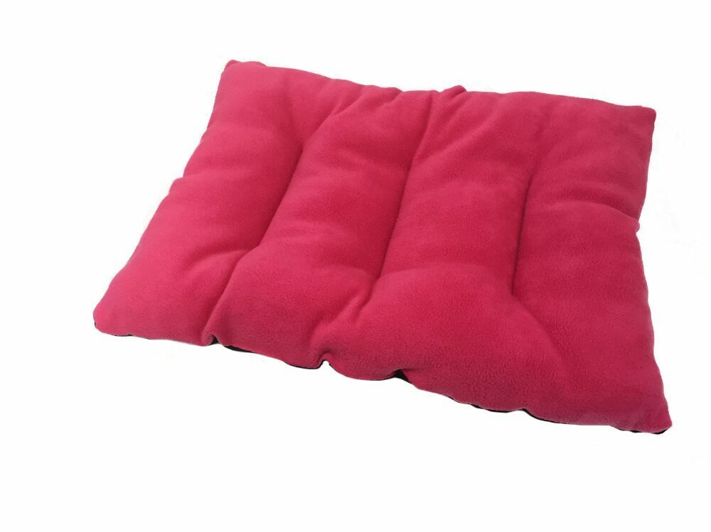 Xl Extra Large Pink Pet Cat Dog Cushion Dog Bed Floor Cushion Basket Fleece