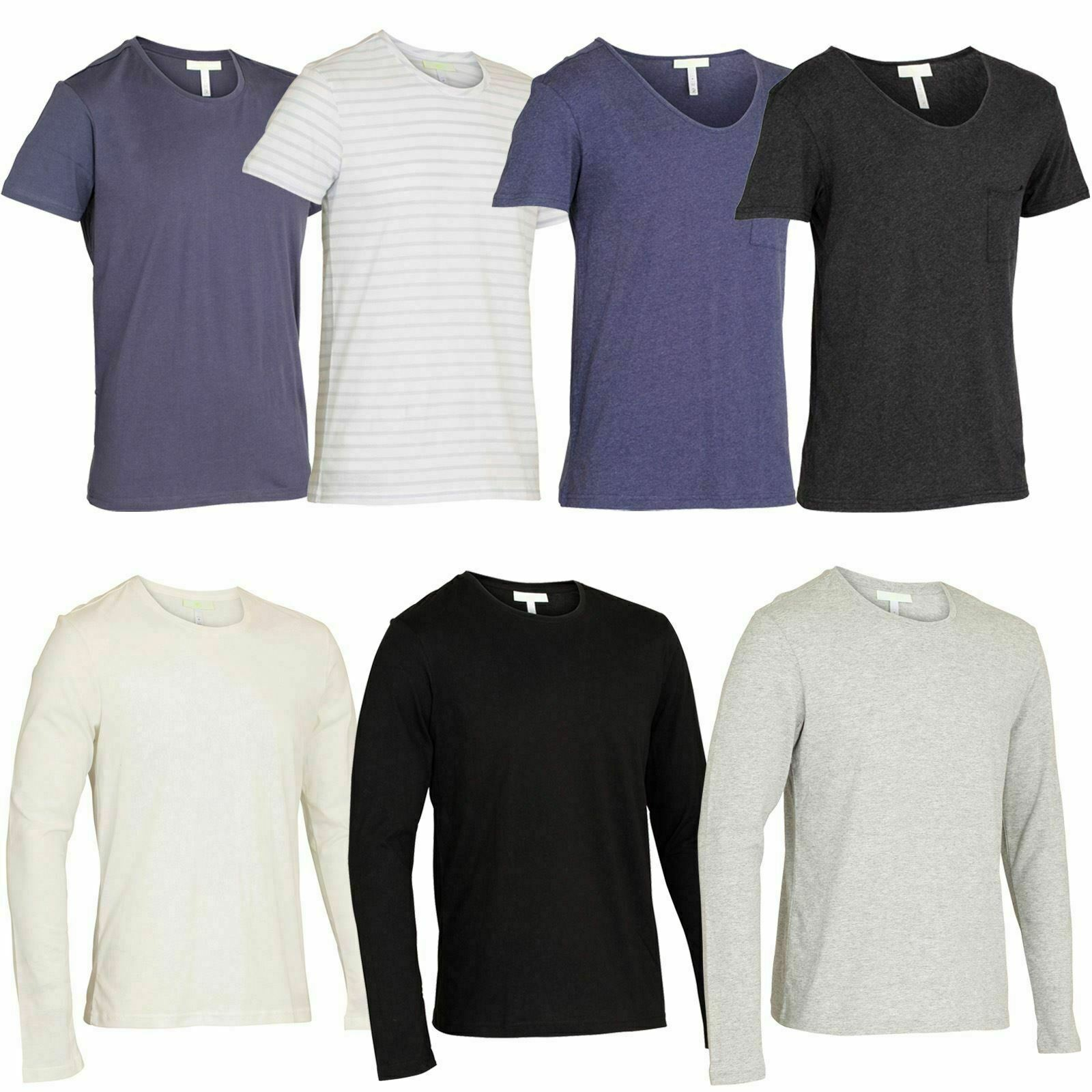 Adidas mens t shirts short long sleeve choice of colours for Von maur mens shirts