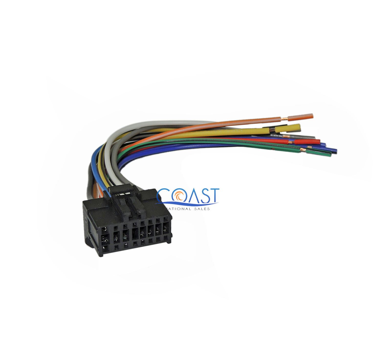 16-Pin Replacement Wiring Harness for 2003-2004 Pioneer Car Stereo Headunit  1 of 1FREE Shipping ...