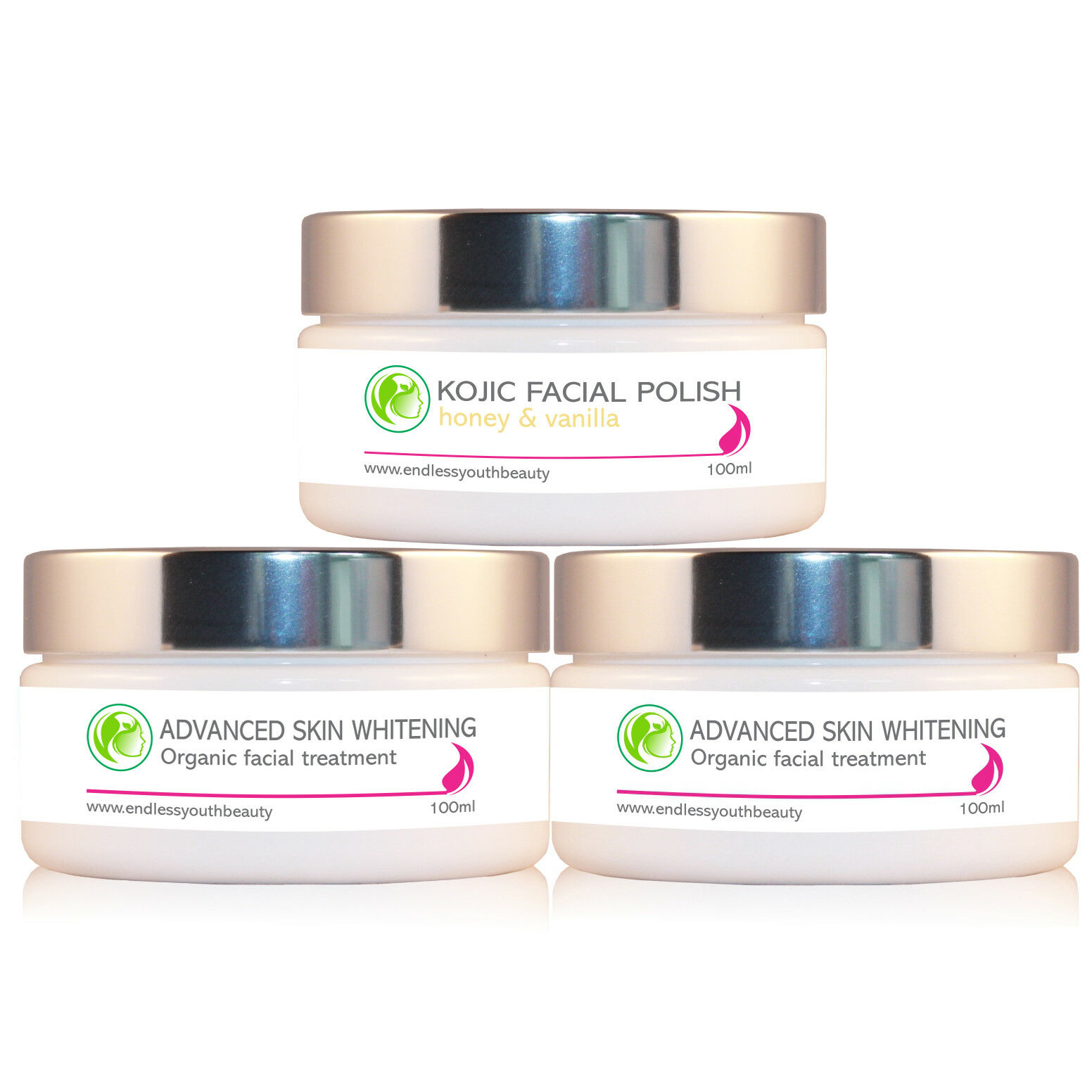 2 X Skin Whitening Lightening Bleaching Cream Facial Scrub 1 Of 4only 5 Available See More
