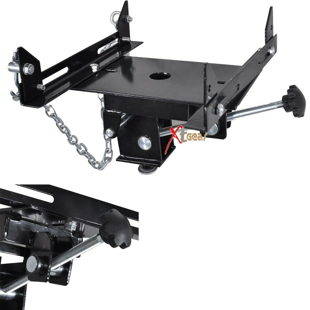 new transmission jack adapter automotive floor jack trans adjustable cad picclick ca. Black Bedroom Furniture Sets. Home Design Ideas