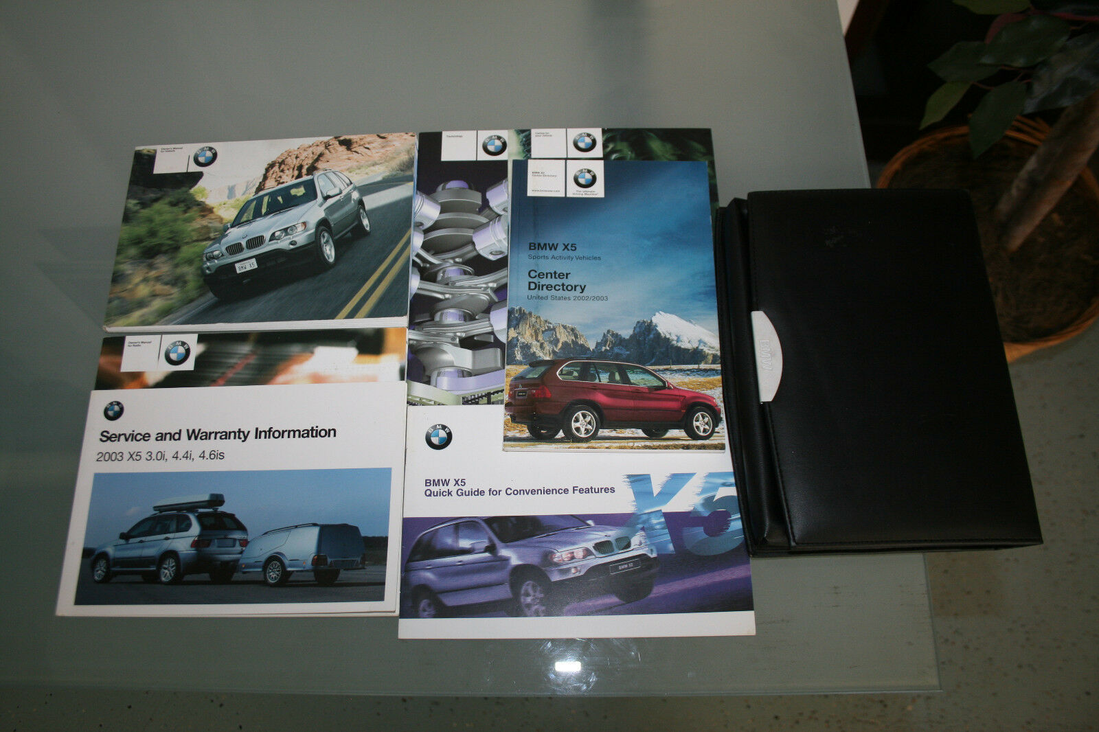 2003 BMW X5 Owners Manual Guide Booklets and Case 3.0i 4.4i 4.6is 3.0 1 of  1Only 1 available ...