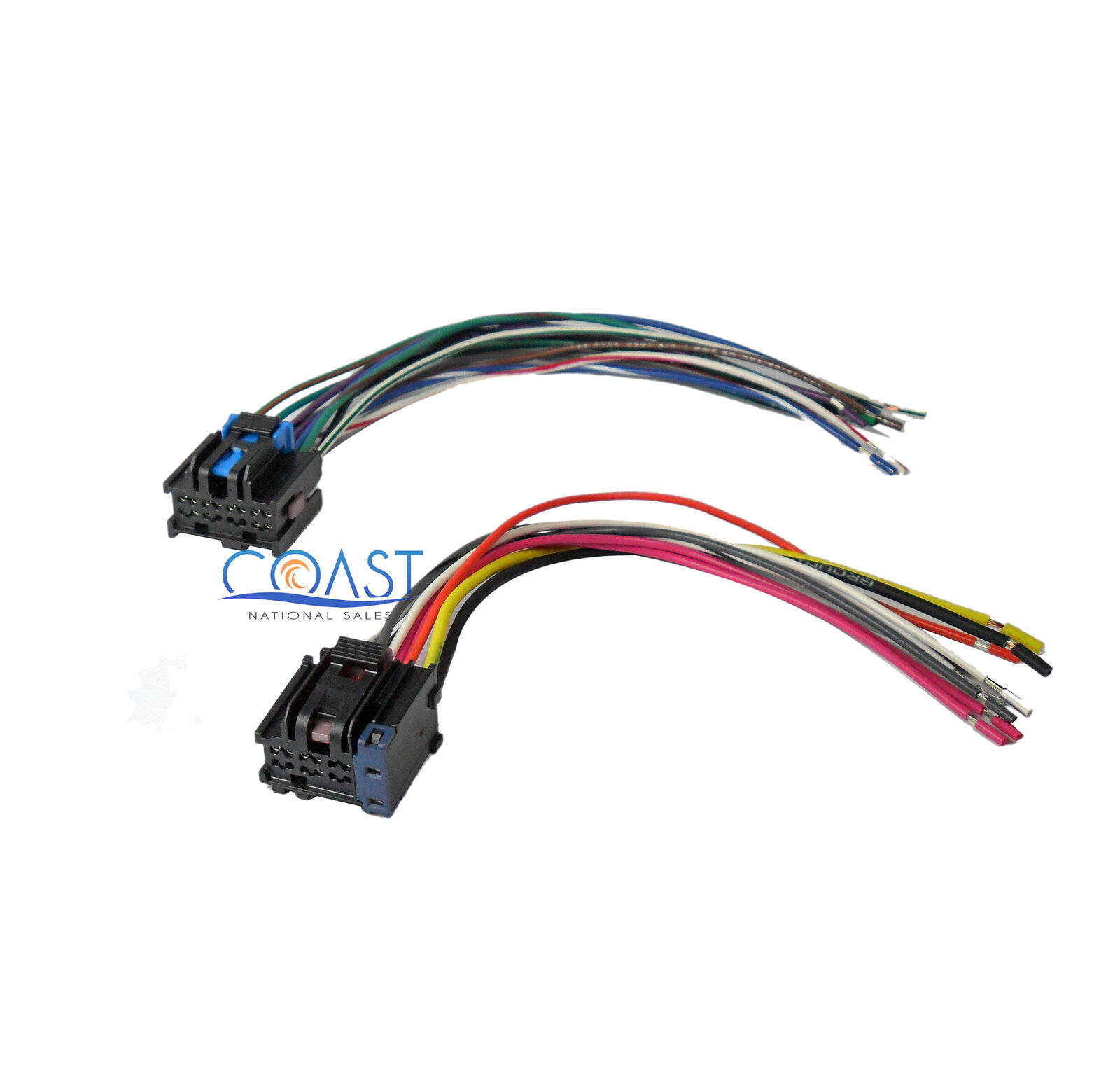 Car Stereo Wiring Harness To Factory Radio For 2005 2010 Chevy Pontiac Saturn 1 Of 1free Shipping