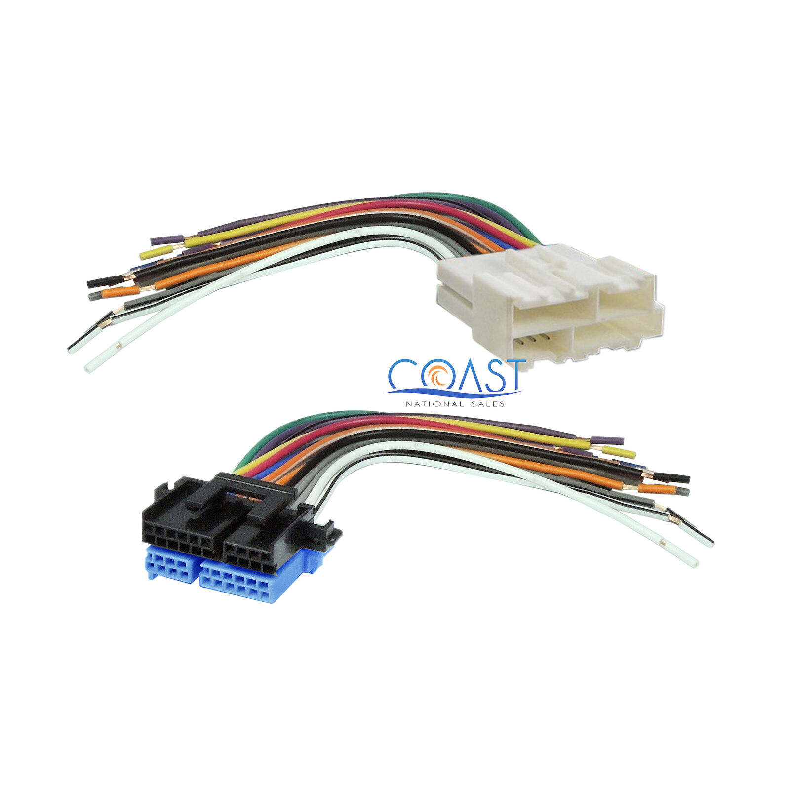 Car Stereo Radio Wiring Harness Combo For 1988 2005 Buick Chevrolet 1 Of 3free Shipping