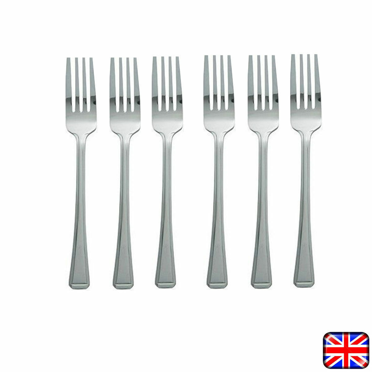 12 X Stainless Steel Cutlery Dining Table Forks Dinner  : 12 X Stainless Steel Cutlery Dining Table Forks from picclick.co.uk size 1200 x 1200 jpeg 75kB