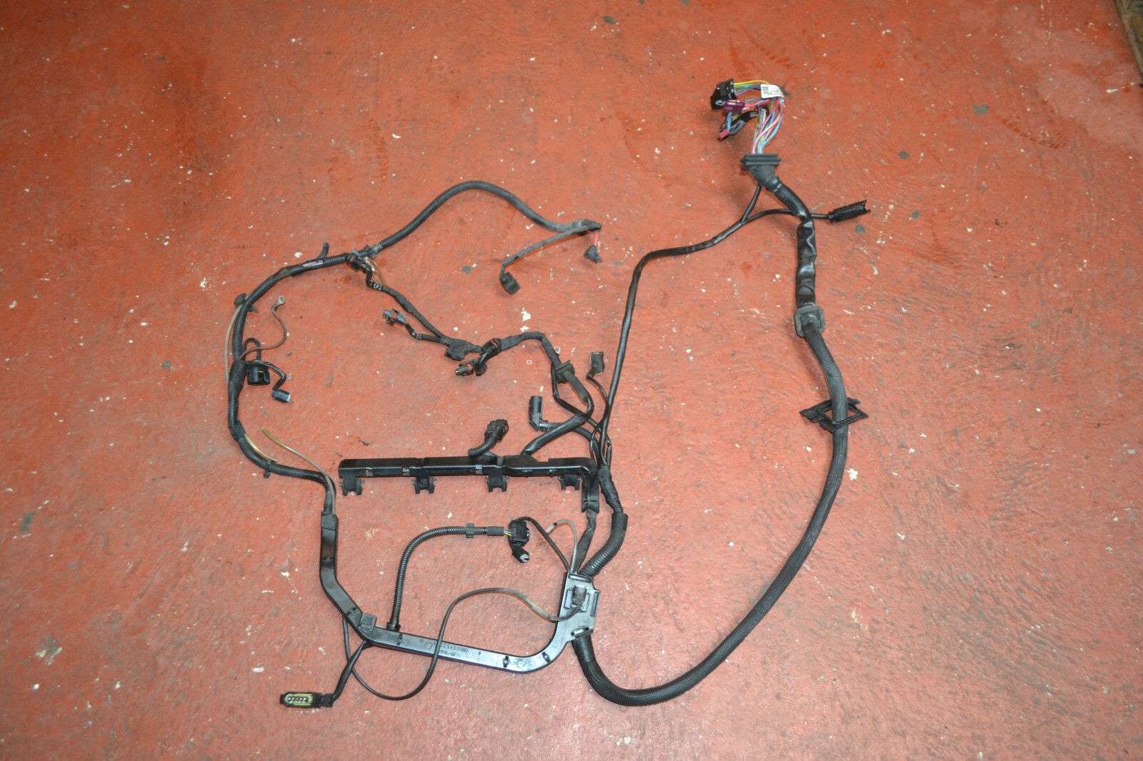 Mercedes C Class W203 C200 Engine Harness Wiring Loom A2035460080 Issues A2035401905 1 Of 6only Available